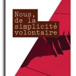 Lancement du livre « Nous, de la simplicité volontaire »