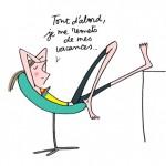 """Soledad, pour """"le blog des paresseuses"""" (http://www.lesparesseuses.com/)"""