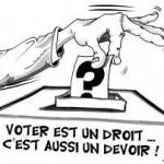 De retour (bis)! En campagne électorale...