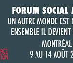 Serez-vous au Forum Social Mondial du 9 au 14 août 2016?